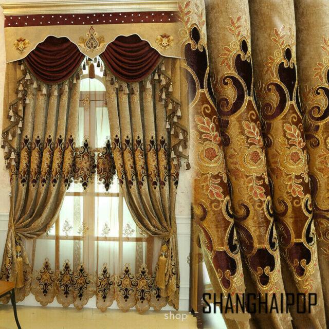 1 NIP Rare Pottery Barn Crewel Embroidered Drape Curtain
