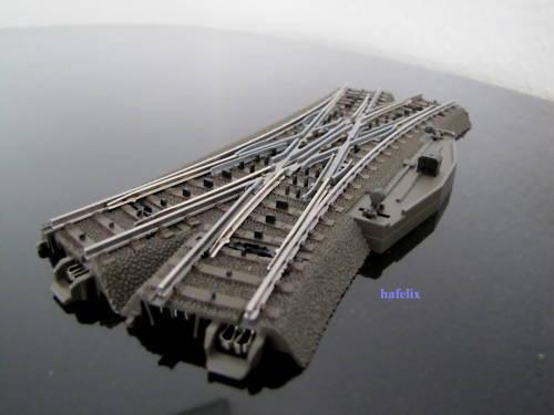 Märklin 24620 C-Gleis Doppelkreuzungsweiche, manuell, aus Ergänzungspack. 24905