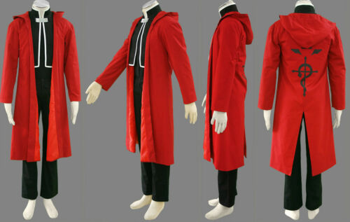 Fullmetal Alchemist Edward Cosplay Costume 1st Ver Any Size