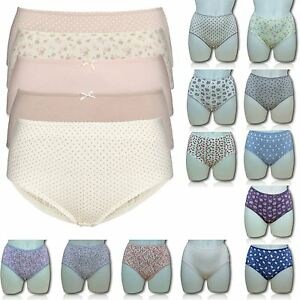 EX-M-amp-S-Marks-amp-Spencer-Ladies-Womens-3-Pack-Midi-Briefs-Knickers