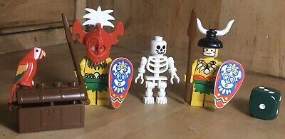 LEGO® Piraten Ritter 4x Schatzkiste Truhe treasure chest box braun Castle F1240