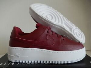 AR5339 602 Nike Wmns Air Force 1 Sage Low Team RedTeam Red Noble Red
