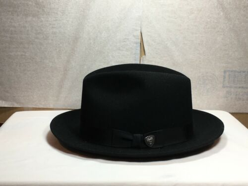 New with Tag Dobbs Fifth Ave New York Fedora Fox Men/'s Hat Brim 2 1//8/'/'