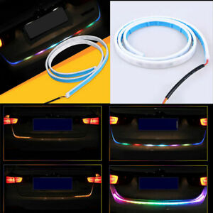 "2 Color 47/"" LED Car Tail Trunk Tailgate Strip Light Brake Driving Signal Knight"