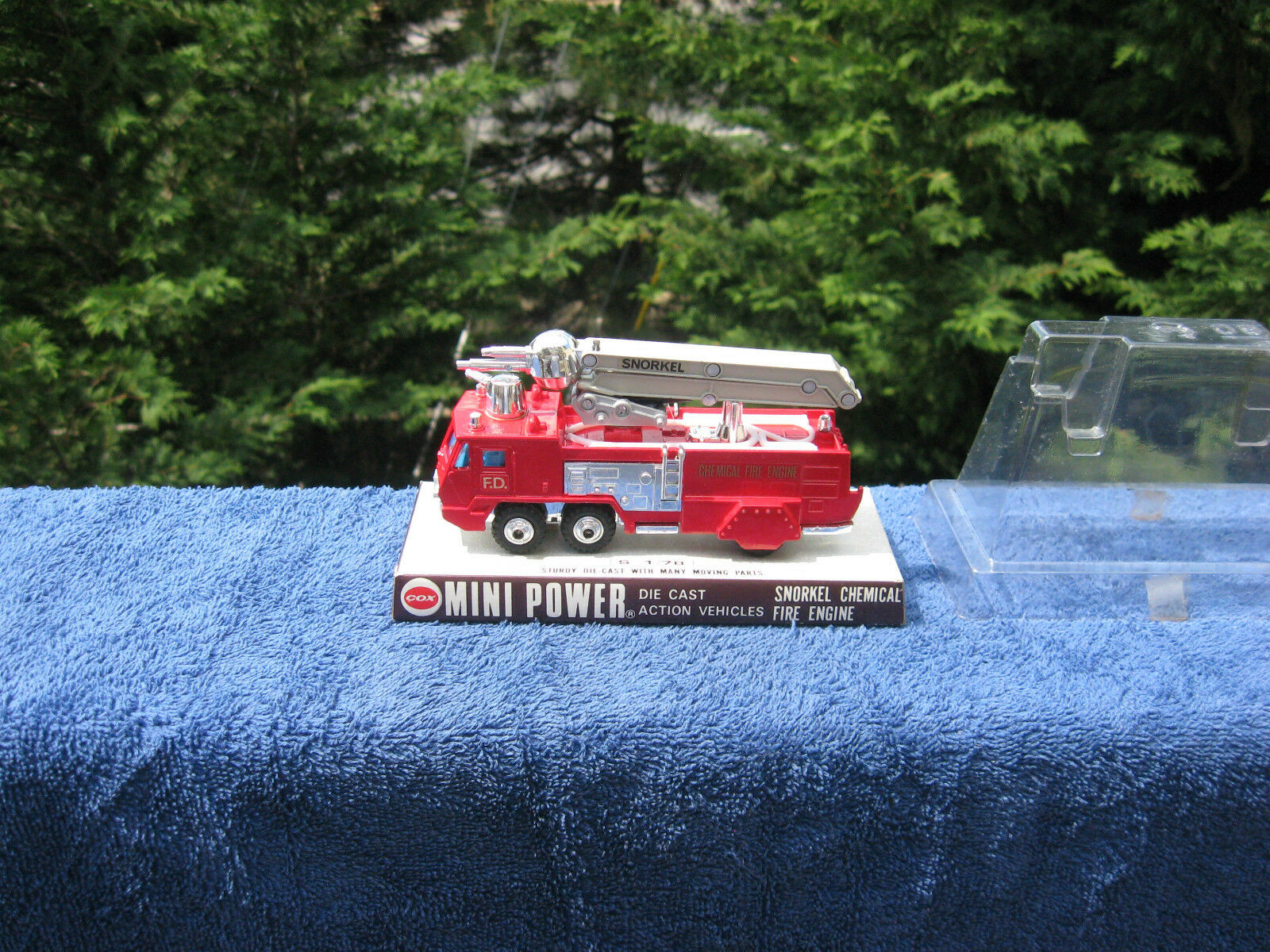 Vintage Shinsei Mini Power Snorkel Chemical Fire Engine Made In JapanNew