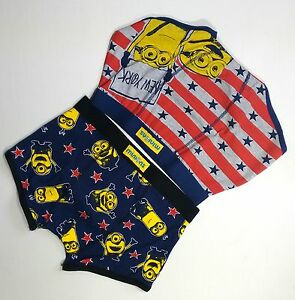 a933df54cf4b78 Despicable Me MINIONS Mens hipsters boxer short pants 2 Pack Primark ...