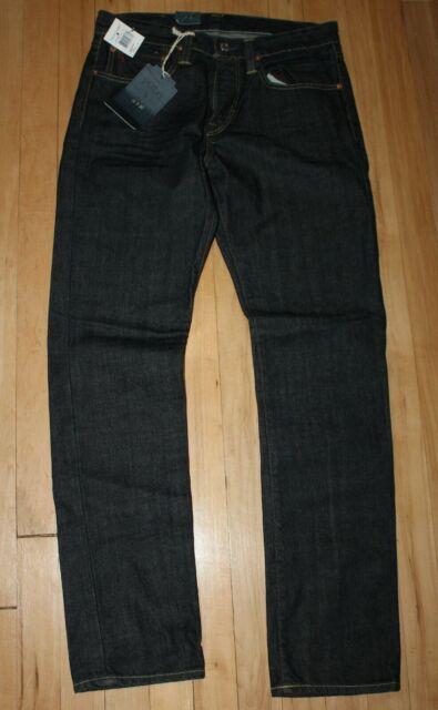 POLO Ralph Lauren Slim 381 Fit Dark Blue Denim Jeans NWT