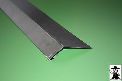 Gut Rinneneinhang Traufblech Dachblech Alu Aluminium 1 M Lang 0,8 Mm Stark Einen Einzigartigen Nationalen Stil Haben Regenrinnen & Zubehör