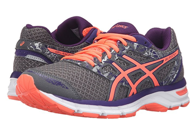 ASICS T6E8N.9606 GEL-EXCITE 4 Wmn's (M) Shark/Flash Coral Mesh Running Schuhes