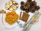Wreath Decorations -Pine Cone Orange Apple Cinnamon XMAS Christmas Pot Pourri