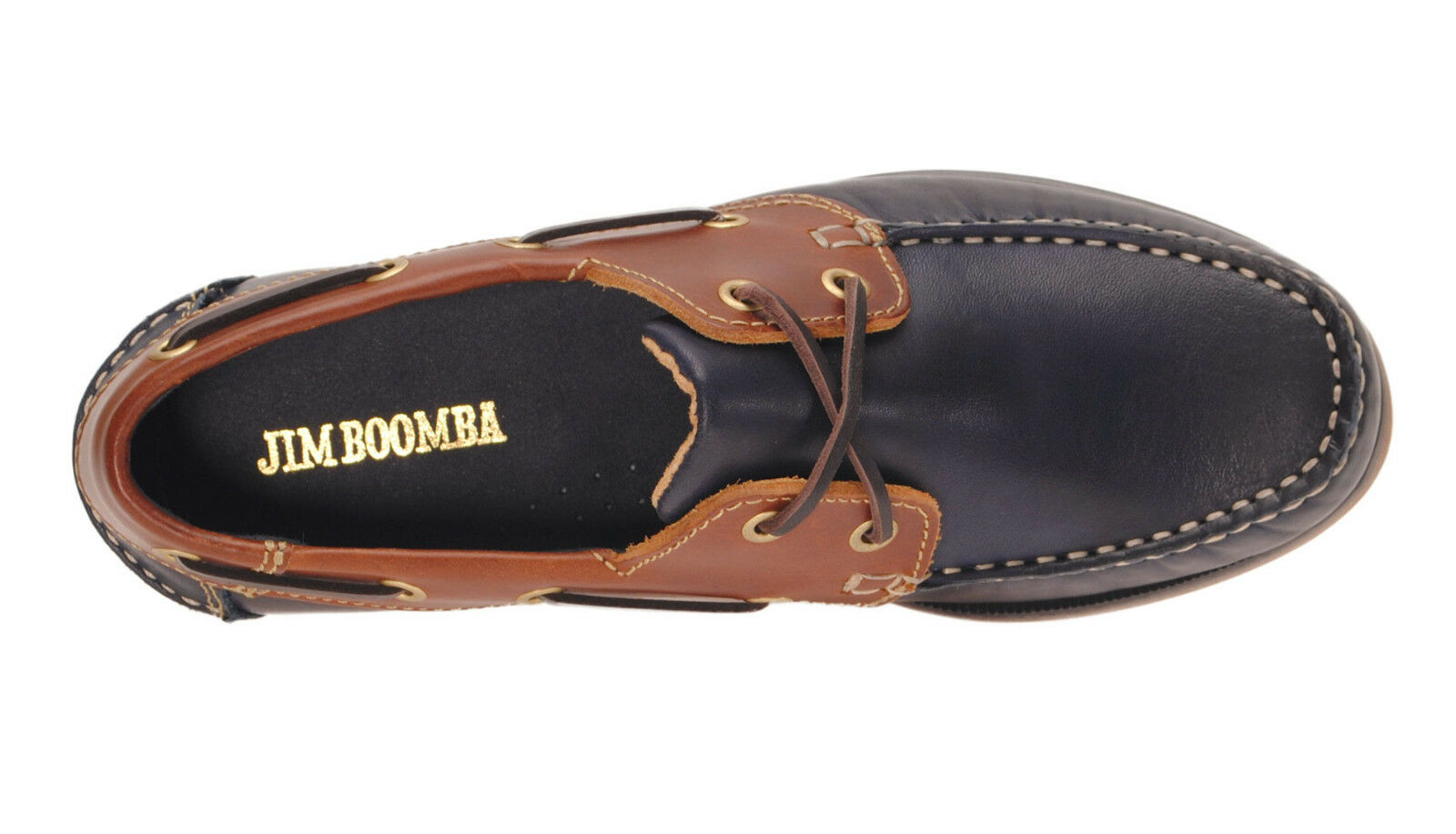 Jim Boomba Premium Leder Boat Boat Boat Schuhes,Deck Schuhe -Mahogany-Cedar Braun-Navy Blau a03e8c