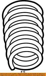 dodge chrysler oem 06 08 ram 1500 front suspension spring 55366825ac 1948 Ford 4 Door image is loading dodge chrysler oem 06 08 ram 1500 front