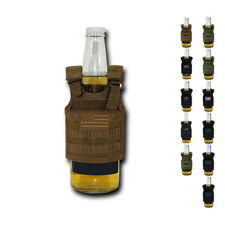 Beer Soda Water Can Bottle Cooler Carrier Insulator Tactical Vest MOLLE 16oz