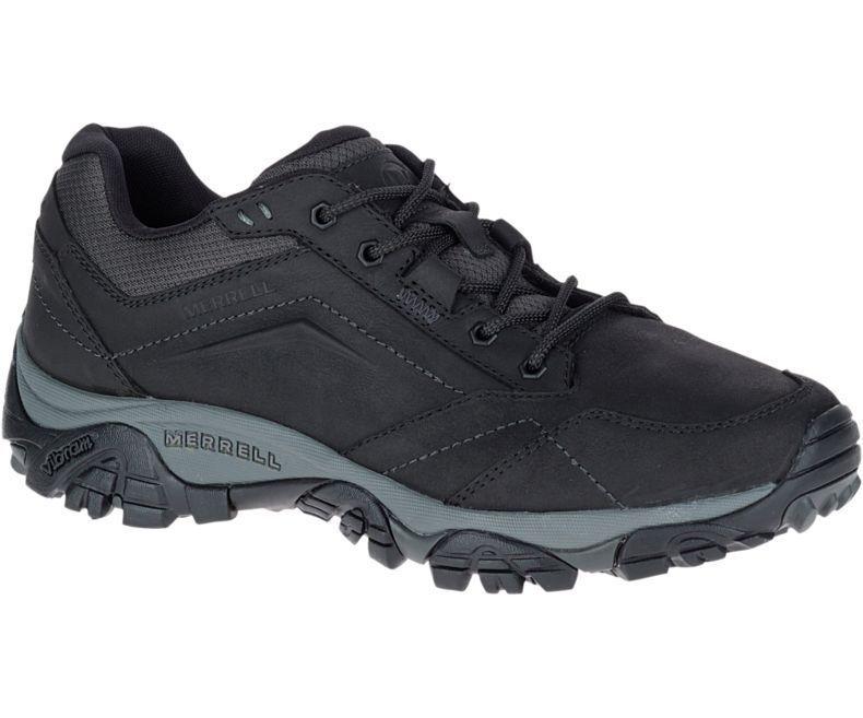 Merrell Moab Adventure Encaje Zapatos para hombre-Negro J91829