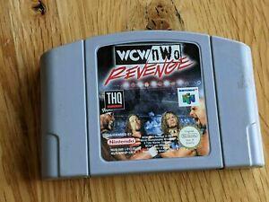 WCW NWO Revenge NINTENDO 64 N64 juego oficial EUR REINO UNIDO PAL * solo carro * Gratis P&P