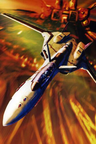 Macross Plus YF-19 Isamu Poster 12inchesx18inches Free Shipping