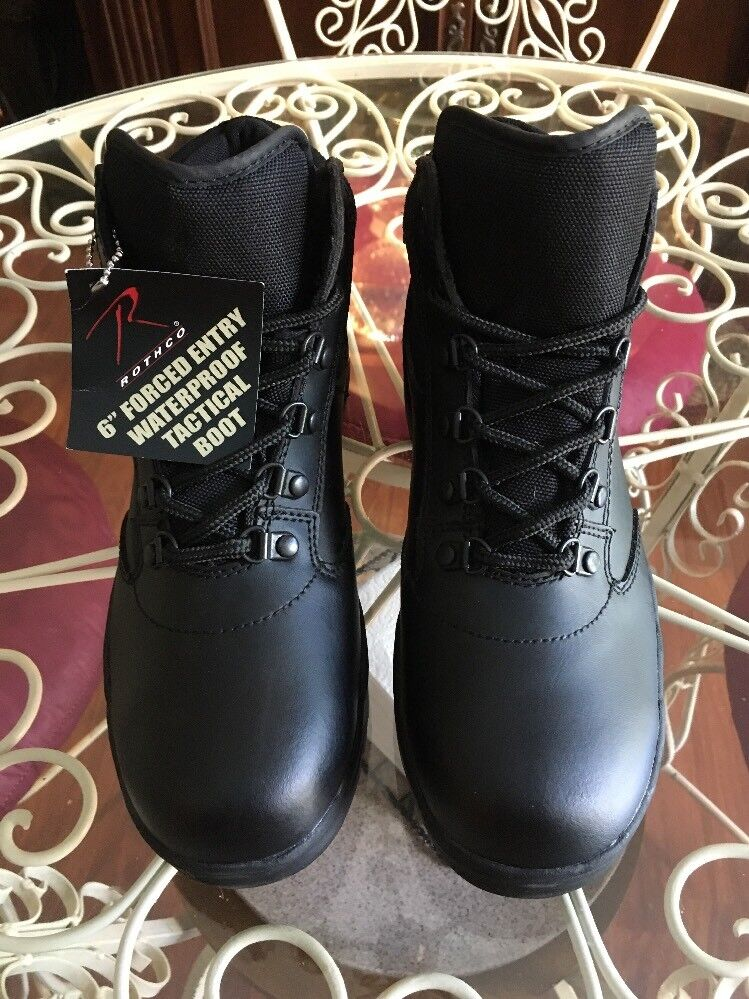 "redHCO 6"" Forced Entry Waterproof Tactical Boots Brand New Size 8 L@@K"