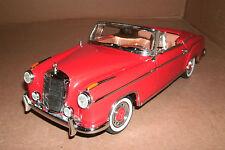 1/18 Scale 1958 Mercedes-Benz 220SE Convertible Diecast Model Car Sun Star 3552