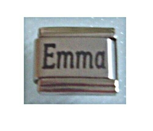 9mm Classic Size Italian Charms Names Name Emma