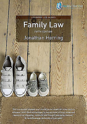 Family Law. Jonathan Herring (Longman Law Series)-ExLibrary