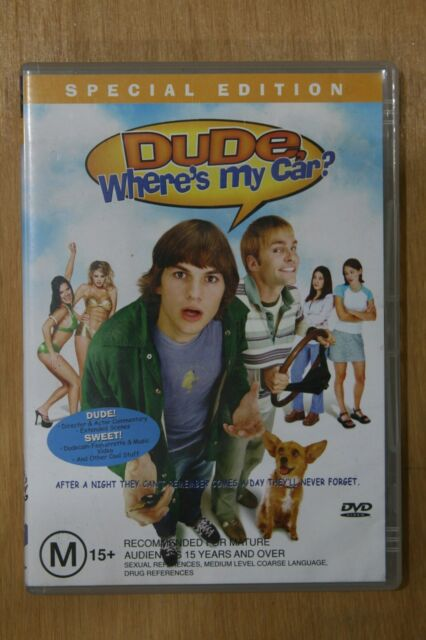 Dude Where's My Car? (DVD, 2002) - (D74)
