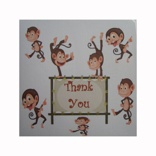 pack of 6 cards Thank you cards blank inside