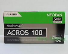5 rolls FUJI NEOPAN ACROS 100 B&W 120 Film