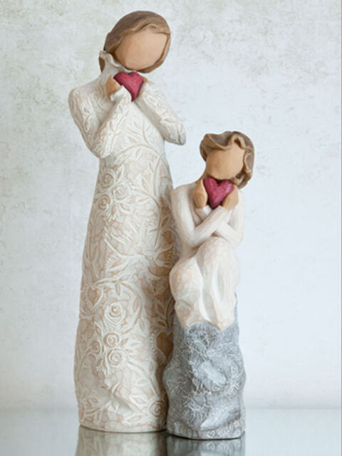 Willow Tree Mother with Daughter Figurines Gift  23631