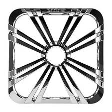 """Kicker 11L712GLCR 12"""" Square Grill W/ LED Light for Solo-Baric Subwoofer Chrome"""