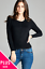 Women-Long-Sleeve-Crew-Neck-Plus-size-Cardigan-Sweater-Knit-Top-1X-2X-3X thumbnail 5