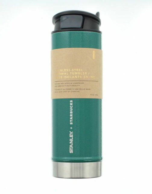 70fa4555471 STARBUCKS STANLEY Stainless Steel Thermal Tumbler 16 Oz COLLECTORS Brand