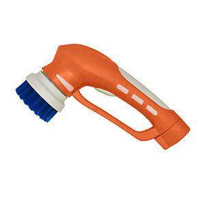 Cordless Handheld Power Brush By IVO Battery Operated Scrubbing - Battery powered scrub brush