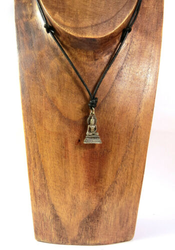 Halskette Buddha Anhänger silber-gold Yoga spirituell Esoterik UNISEX NEU!
