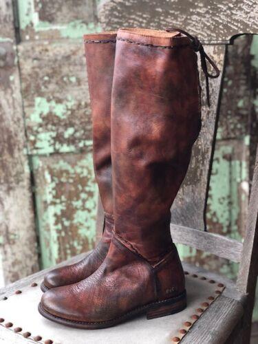 Bed Stu Women/'s Teak Rowan Manchester Tall Fashion Boot TKRWMU Leather Boots