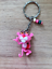 Pink Panther inspired cartoon plastic keyring keychain gift 850