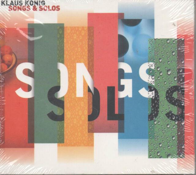 Klaus König Songs & Solos Enja CD NEU WDR Claudius Valk Roger Hanschel W. Kaiser