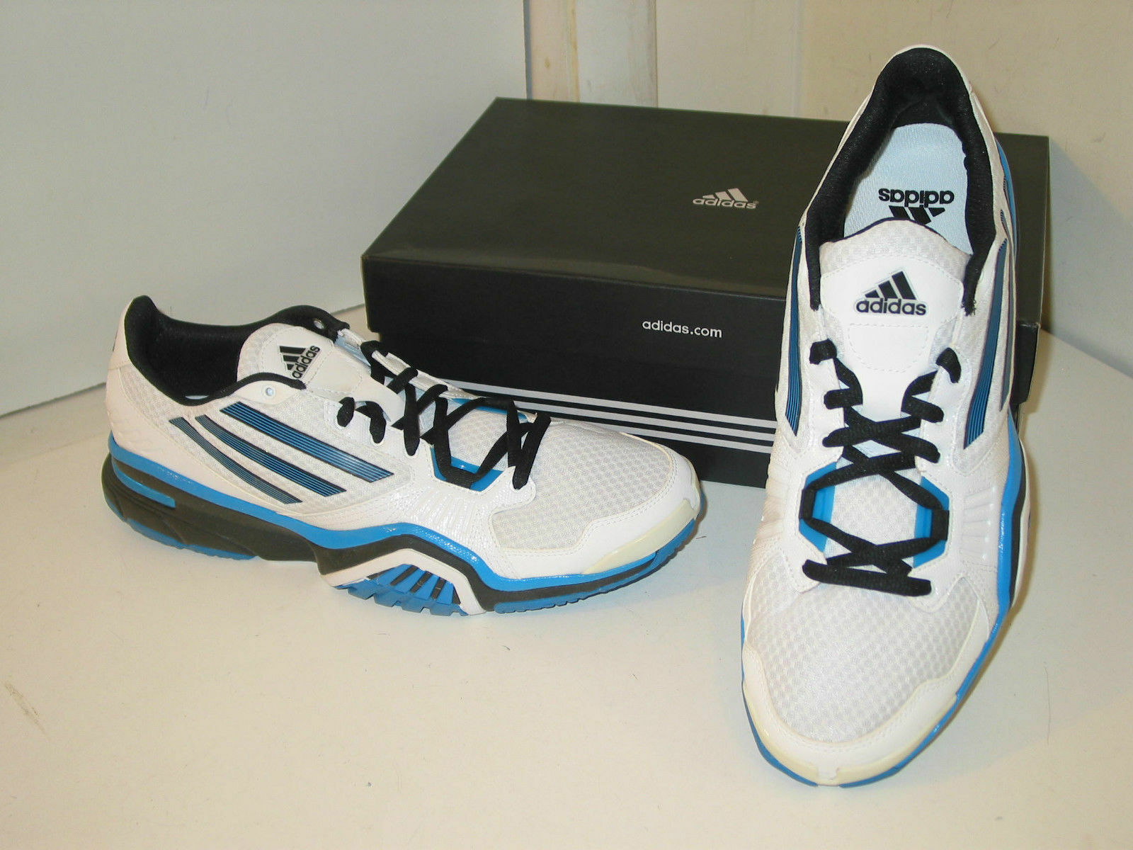Adidas Optigon III 3 Light Trainer Running White & Blue Sneakers Shoes Mens 12.5 The latest discount shoes for men and women