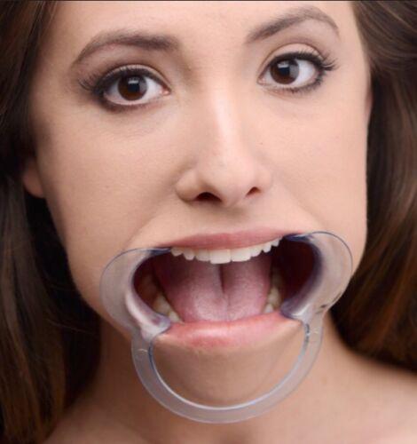 Ball Gag Bondage Kit BDSM Restraint Fetish Open Mouth Gag joue adorent Restraint