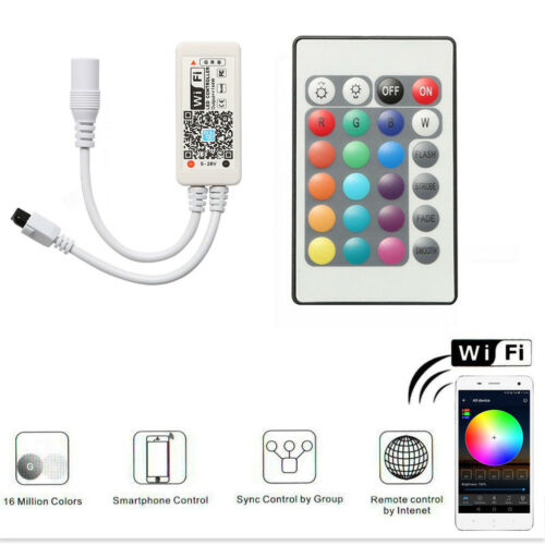 9//6//4 Pack WIFI RGB Smart LED Under Cabinet Lights Lamp Remote for Amazon Alexa