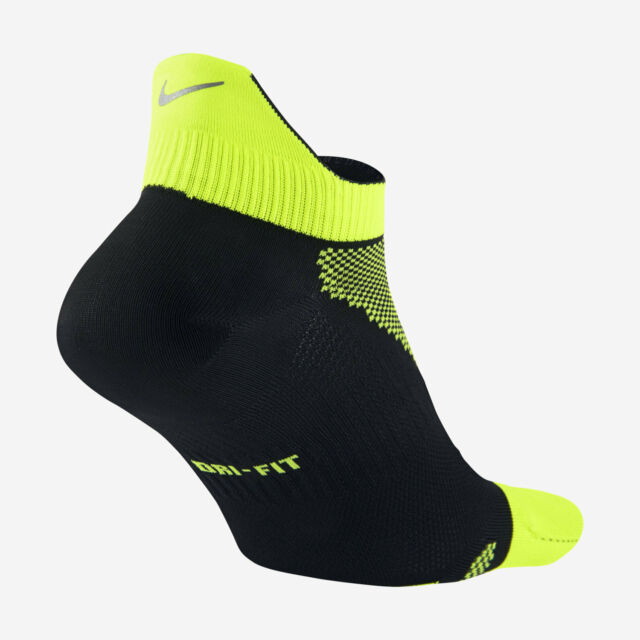 ebf1b1cf38166 1 Pair Nike Dri Fit Elite Lightweight No Show Tab Running Socks Men's XL