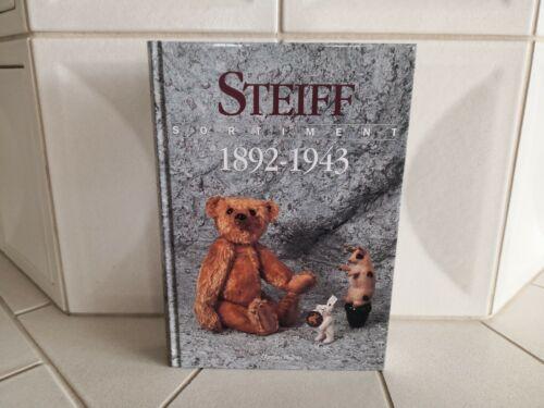 Buch//Book STEIFF Sortiment 1892-1943 Preisführer Priceguide Günther Pfeiffer Neu