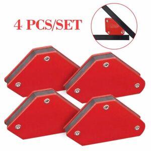 welding equipment Other Welding Equipment 4 Welding Magnet Magnetic Square Welder Holder Arrow Clamp 45° 90° 135° 9LB
