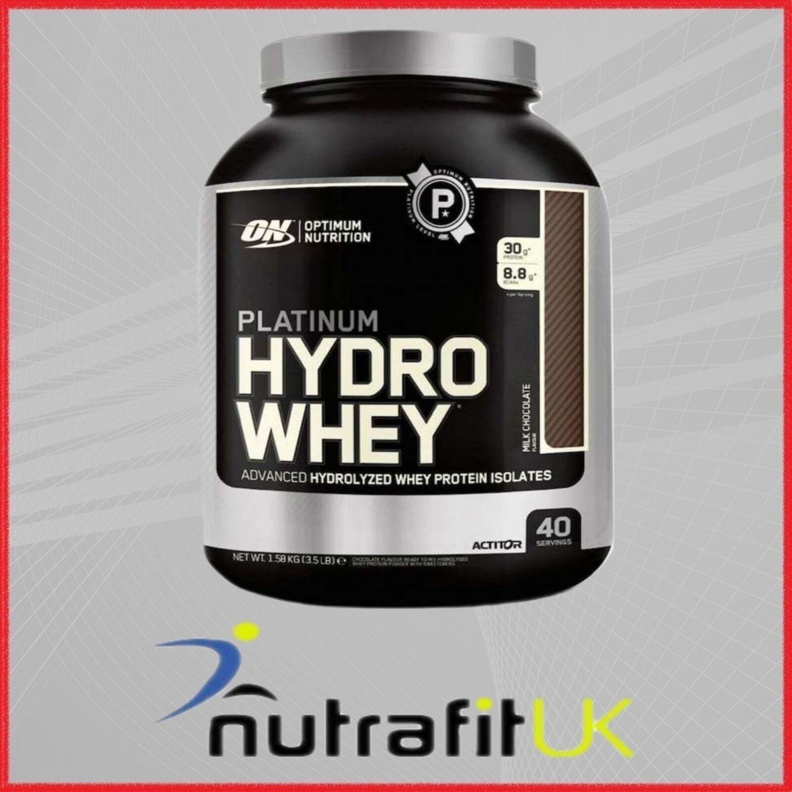 OPTIMUM NUTRITION protein PLATINUM HYDRO WHEY protein NUTRITION isolate powder 7d1e24