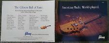 Gibson 1983 catalog color Les Pauls Korina L5 ES