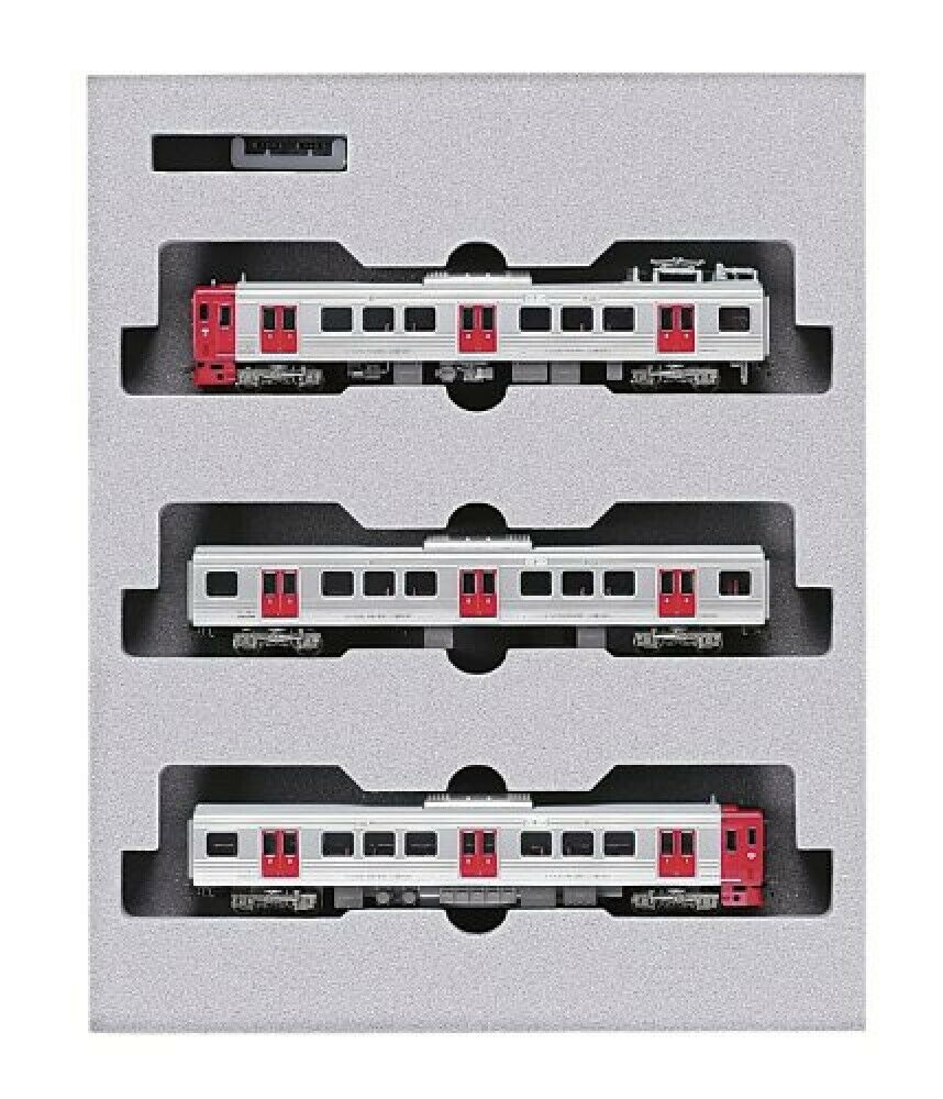 Kato N Scale 813 Series 200 3-Coche Set 10-813 FerroCocheril Modelo Tren De Japón