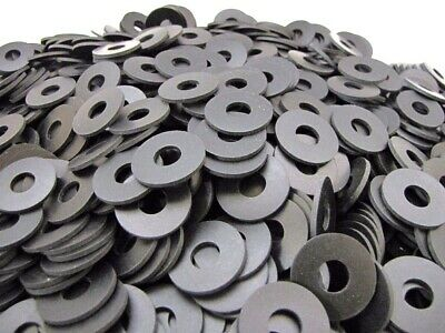 """3//16/"""" Thick Oil Resistant Rubber Washers Multi Use Washers 1//2/"""" ID,1 1//4/"""" OD"""