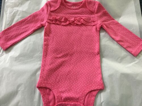 NWOT CARTER's BABY GIRL LONG SLEEVE BODYSUIT CREEPER JUMPER *CHOOSE YOUR PRINT*