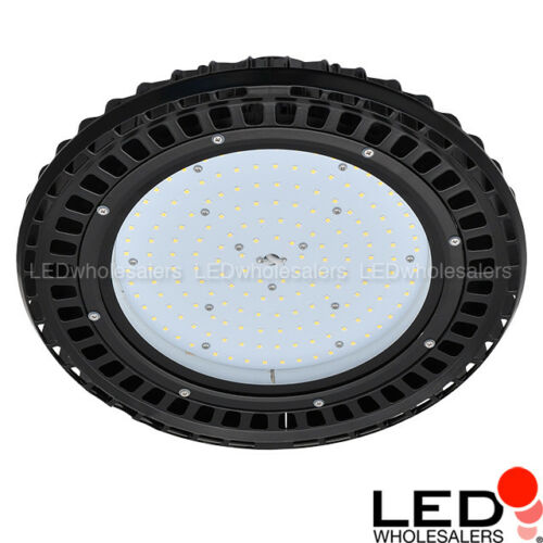 UL-Listed Daylight 5000K 150W or 200W LED Round Pendant High Bay Light Fixture