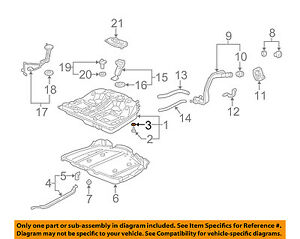 Acura HONDA OEM MDX L Transmission Oil CoolerSealing Ring - 01 acura mdx transmission