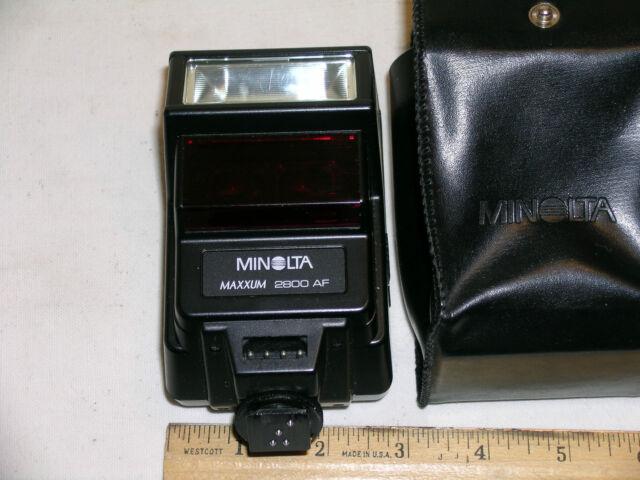 Konica / Minolta Maxxum 2800AF Shoe Mount Flash